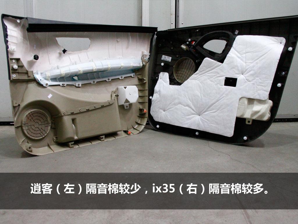 车身结构之车顶:逍客车顶较为压抑