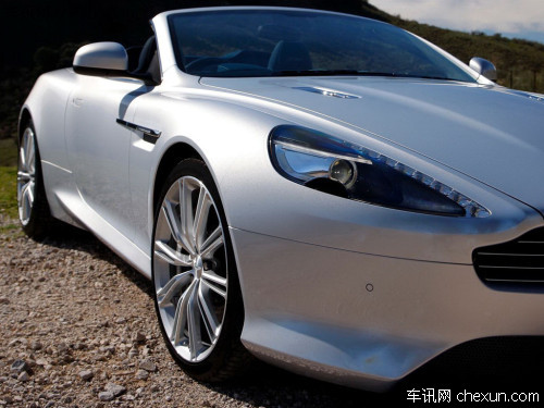 阿斯顿-马丁推龙年版车型 亮相北京车展