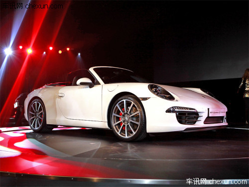 新保时捷911北京发布 敞篷版下半年上市