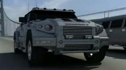 王者无疆 凯佰赫战盾指挥版两厢装甲SUV