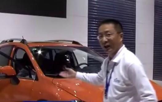国际车展星爷零距离评车-斯巴鲁XV 视频