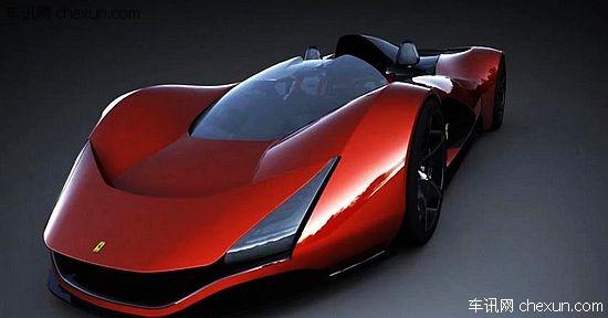 法拉利发布aliante概念跑车设计图 似子弹飞