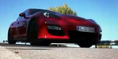 即将北京车展首发的新Panamera GTS海外测试