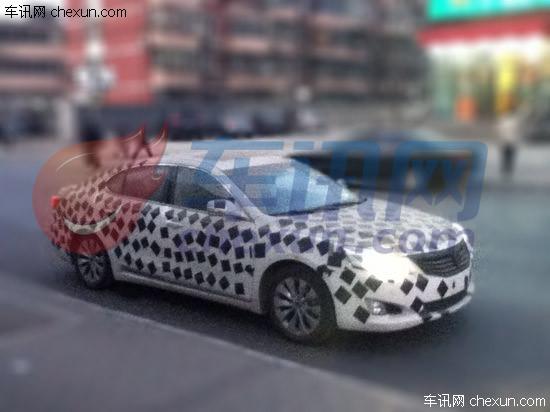 长安中级车CD101谍照曝光 预计年底上市高清图片