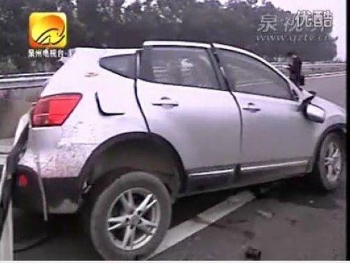 福建泉州高速惨烈车祸
