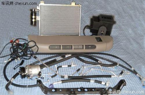 汽车空调系统工作原理以及具体结构解析