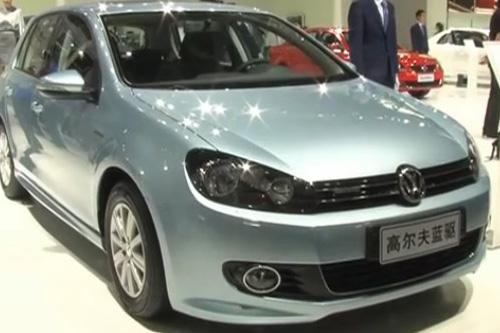 2011广州车展1.2馆一汽大众 高尔夫蓝驱