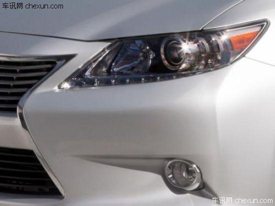新款雷克萨斯ES纽约车展发布 全新内饰设计