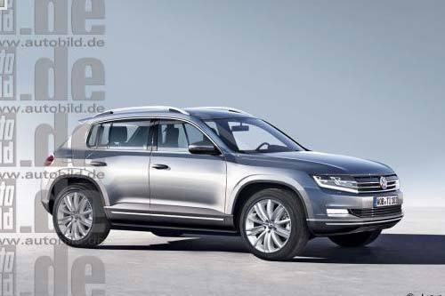 长轴版Tiguan有望国产 新车基于MQB平台