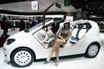 随性的欧洲车模