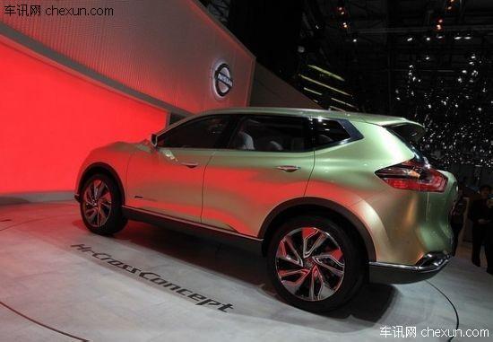 日产发布hi-cross概念车 预展新款奇骏