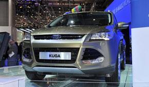 全新一代福特Kuga日内瓦车展首发 未来国产