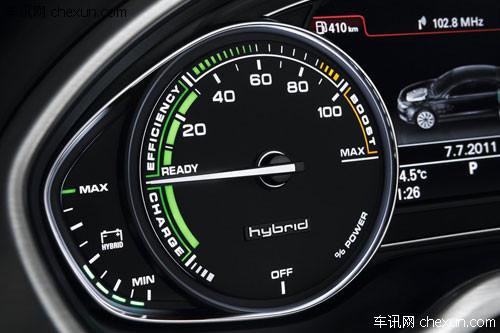 新款A8L hybrid