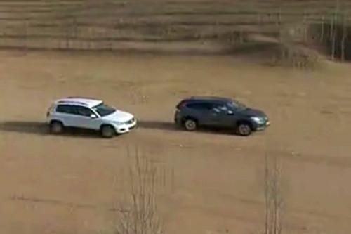 《拆车坊》途观对比CR-V 四驱能力相去甚远
