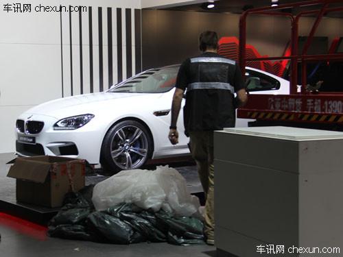 北京车展探馆:百公里加速4.2秒的宝马M6