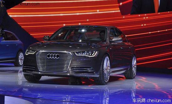 奥迪A6L e-tron概念车首发 专为中国打造_车讯网