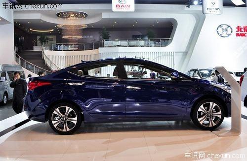 北京现代朗动-车讯网