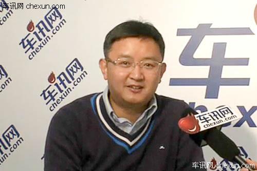车展专访运英杰汽车销售服务公司总经理宗明