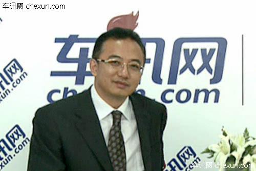 北京车展专访 一汽马自达市场部部长陈立军