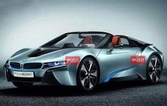 宝马推出i8 Spyder概念车 北京车展首发