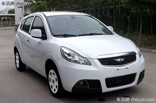 瑞麒G2北京车展首发 预计售6万起或7月上市